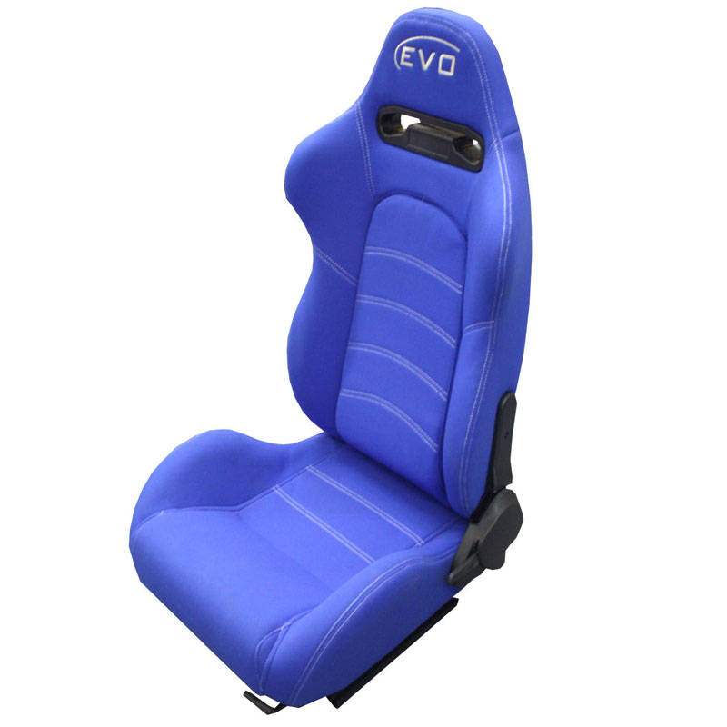 Evo Tuning Gt Reclinable Racing Seats Blue Evo Tuning South Africa