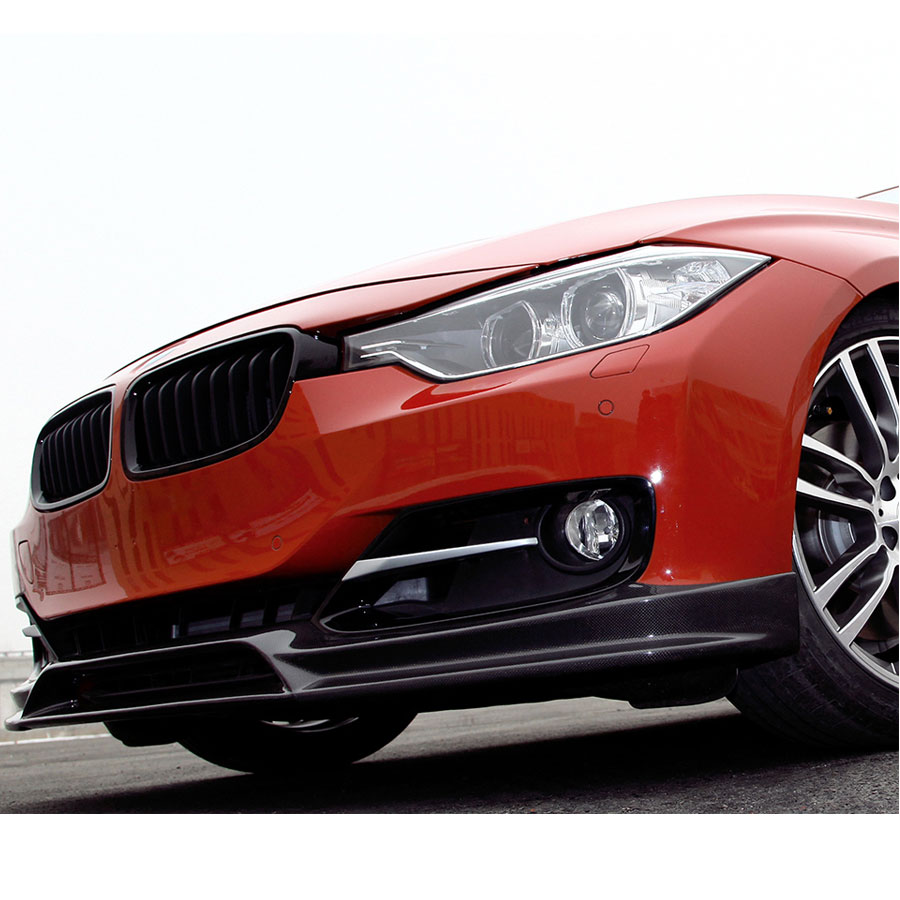 bmw f30 sport line carbon front spoiler evo tuning south. Black Bedroom Furniture Sets. Home Design Ideas